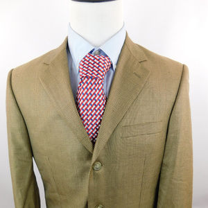 Andrew Fezza Men's 3 Button Houndstooth Blazer